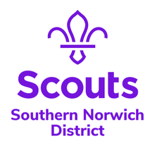 Southern Norwich Scout District logo